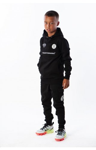 Black Bananas Black Bananas Kids Anorak Jogger Black