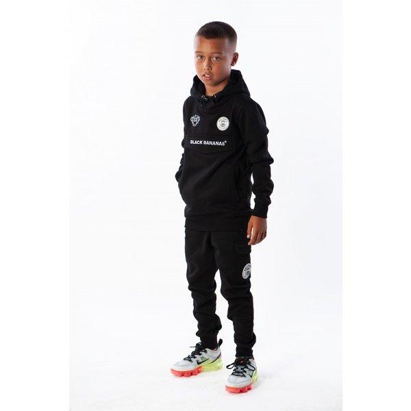 Black Bananas Kids Anorak Jogger Black
