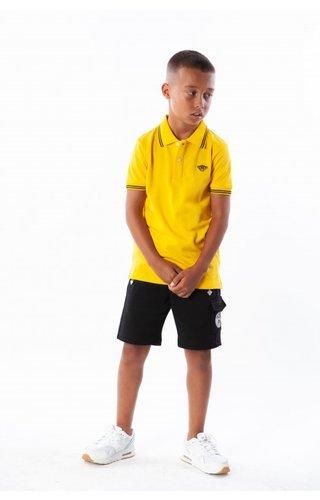 Black Bananas Black Bananas Kids Basic Polo Yellow