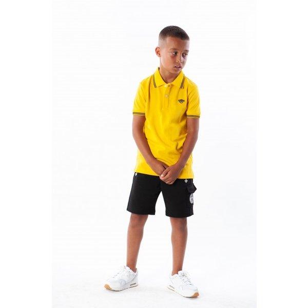 Black Bananas Kids Basic Polo Yellow