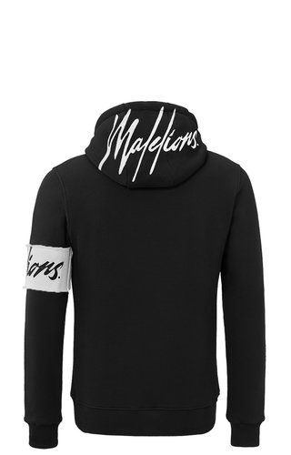 Malelions Malelions Hoodie Captain Black/White