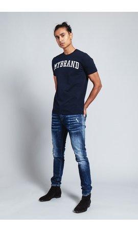 My Brand My Brand Branding T-Shirt Navy