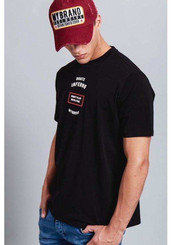 My Brand Inferno T-Shirt Black