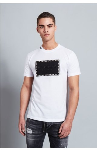My Brand My Brand Stud Badge T-Shirt White