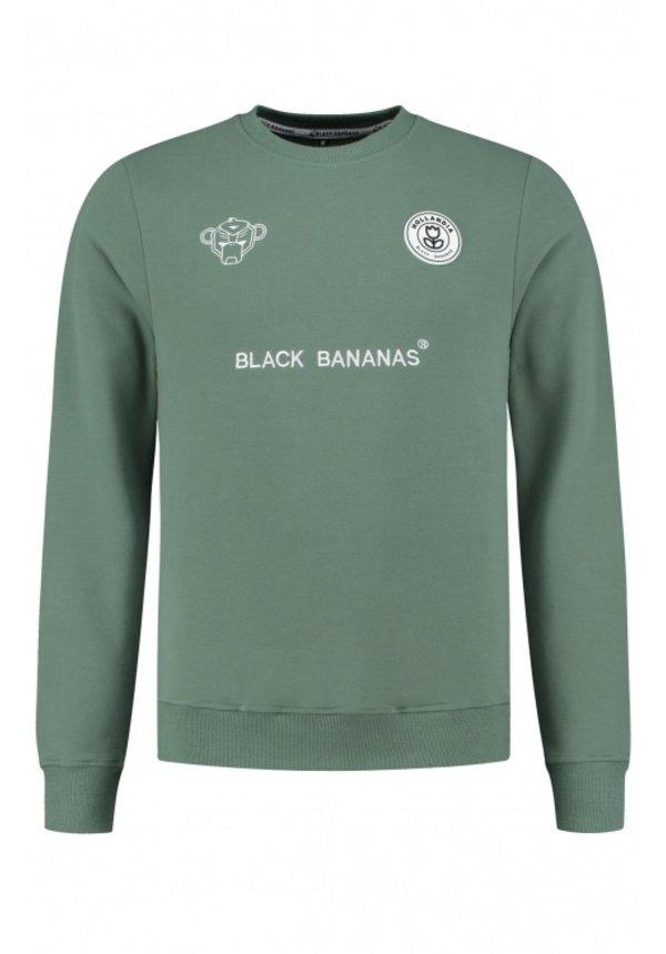 Black Bananas F.C. Crewneck Green