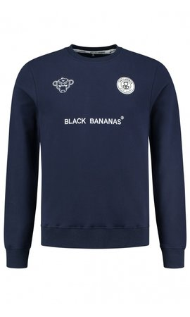 Black Bananas Black Bananas F.C. Crewneck Navy