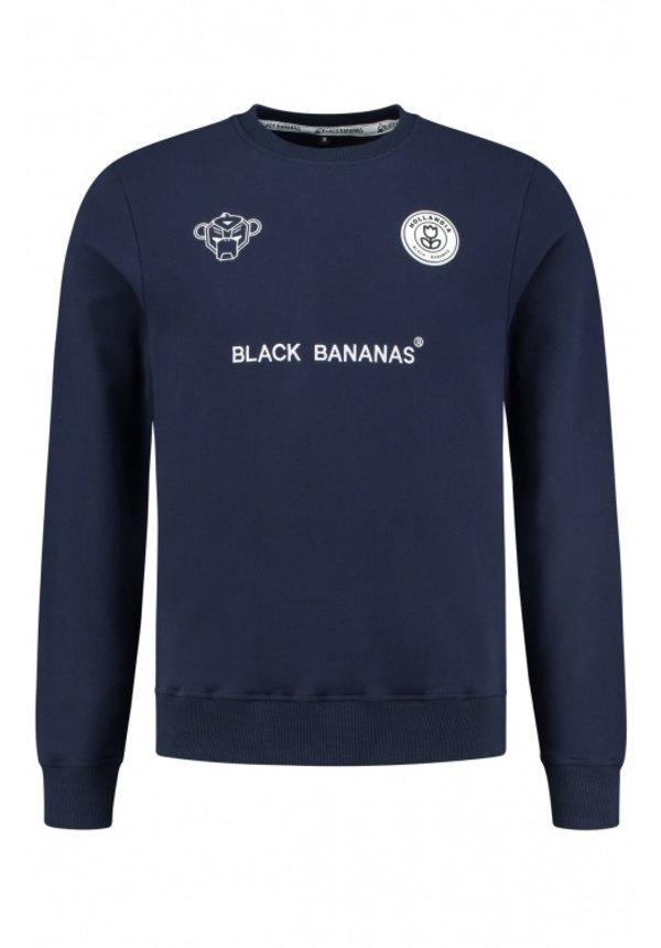 Black Bananas F.C. Crewneck Navy