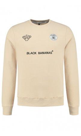 Black Bananas Black Bananas F.C. Crewneck Sand