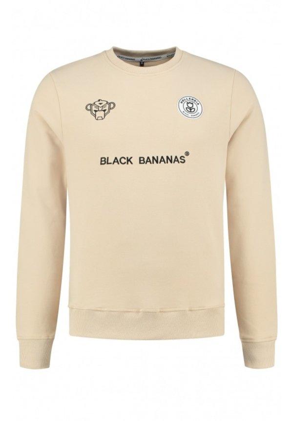 Black Bananas F.C. Crewneck Sand