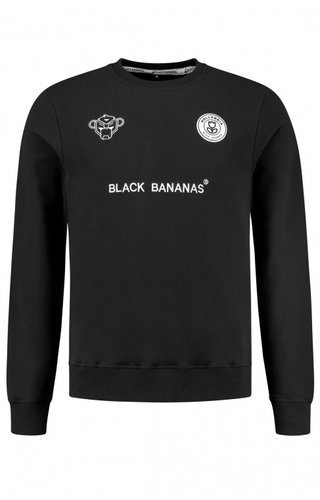 Black Bananas Black Bananas F.C. Crewneck Black