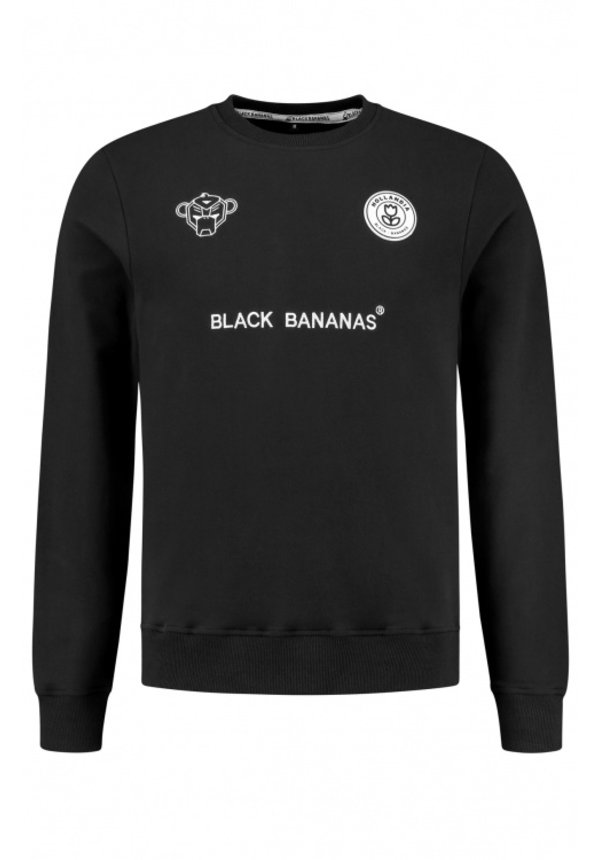 Black Bananas F.C. Crewneck Black