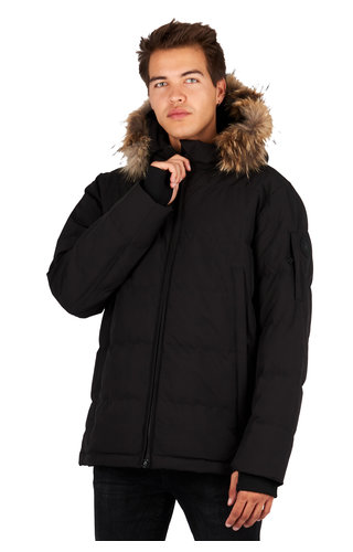 Airforce Airforce Mitchell Parka True Black FRM0611