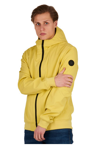 Airforce Airforce SoftShell Jacket Elfin Yellow HRM0575