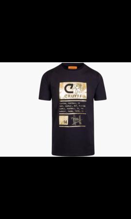 Cruyff Cruyff Gaspar SS T-shirt Black