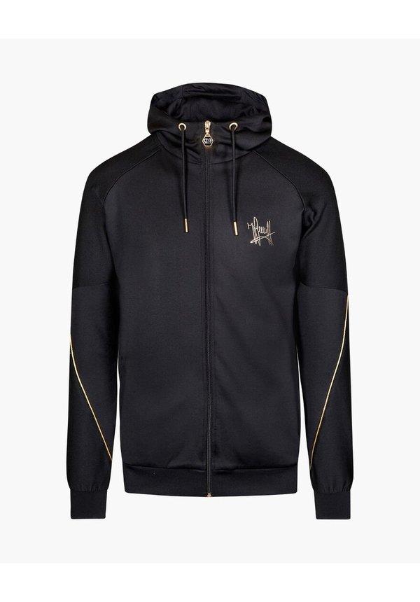 Cruyff Gaspar Zip Thru Jacket Black