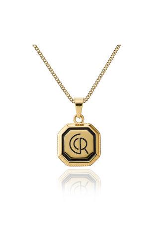 Croyez Croyez Logo W / Round Boxchain 14 K gold
