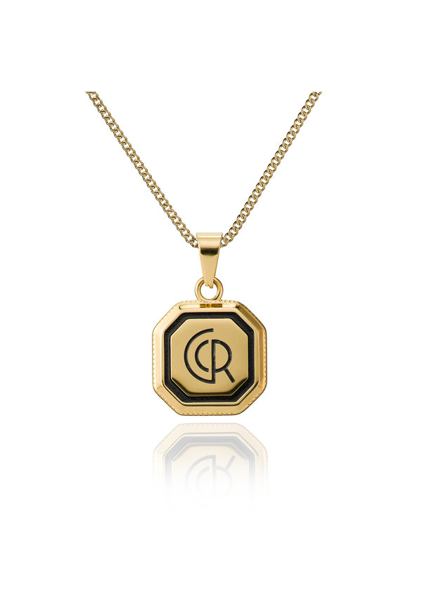 Croyez Logo W / Round Boxchain 14 K gold