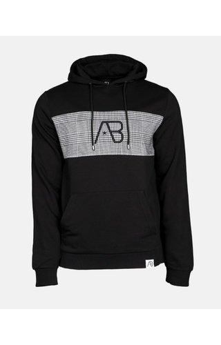 AB-Lifestyle AB Lifestyle Block Hoodie Checkers Zwart