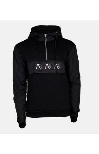 AB-Lifestyle AB Lifestyle Anorak Hoodie Zwart