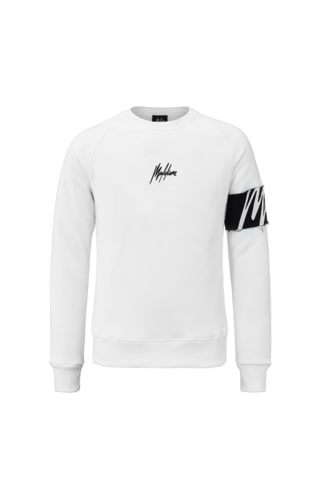 Malelions Malelions Crewneck Captain White/Black