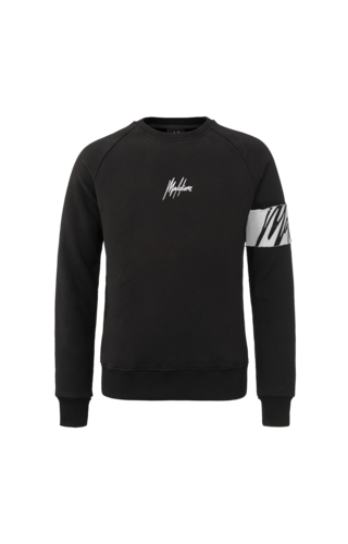 Malelions Malelions Crewneck Captain Black/White