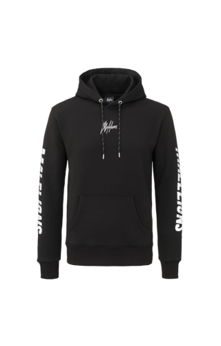 Malelions Malelions Hoodie Signature Reflective Black
