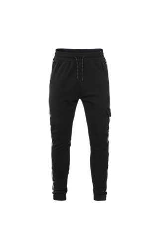 Malelions MALELIONS TRACKPANTS  SIGNATURE REFLECTIVE BLACK