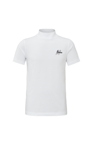 Malelions Malelions Turtle Neck Signature White