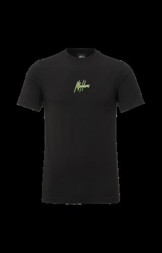 Malelions Malelions T-Shirt Double Signature Black