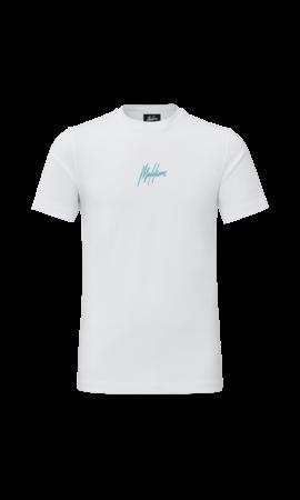 Malelions Malelions T-Shirt Double Signature White