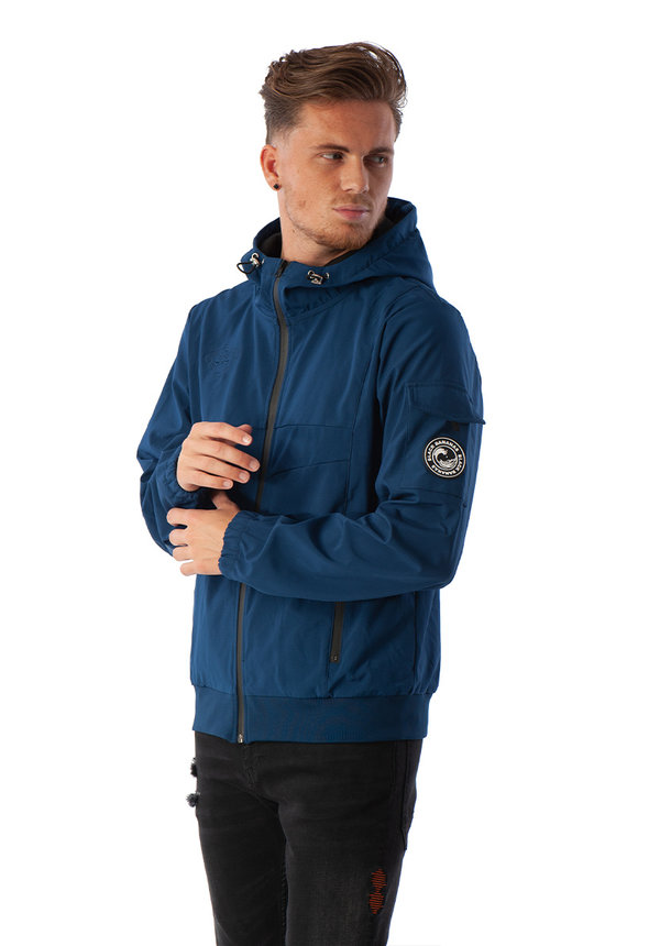 Black Bananas Soft Sidney Jacket Navy