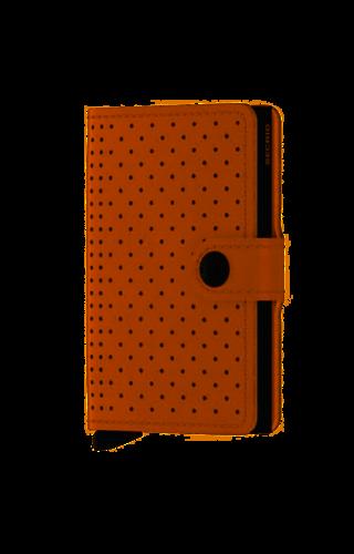 Secrid Secrid Miniwallet Perforated Cognac