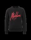 Malelions Crewneck  Black/Red