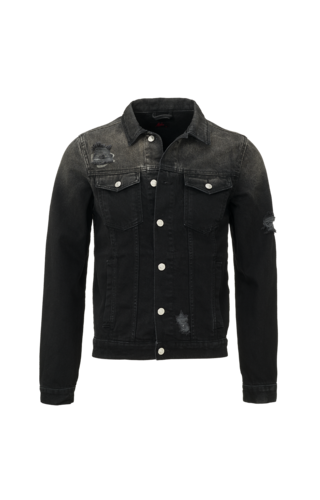 Malelions Malelions Denim Jacket Black/TieDye