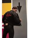 Malelions Denim Jacket Black/TieDye