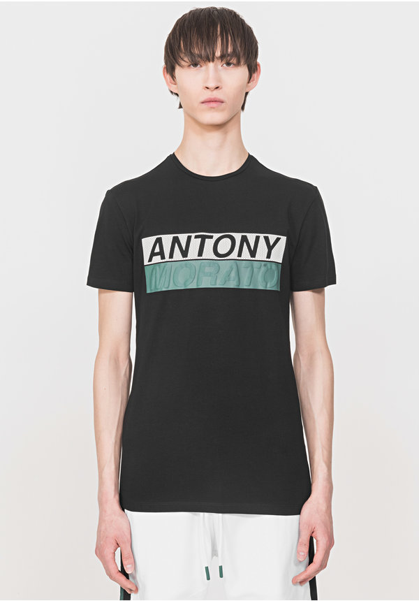 Antony Morato Sport The Green Lin MMKS01719-FA120001 Black