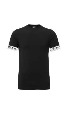 Malelions Malelions One Tape T-shirt Black/White
