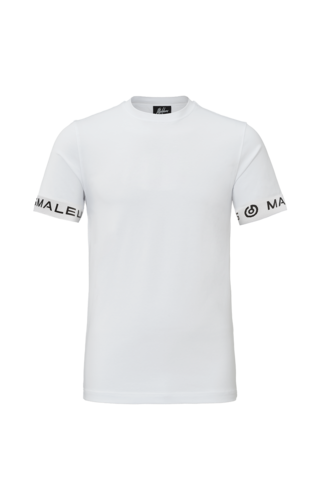 Malelions Malelions One Tape T-shirt White/Black