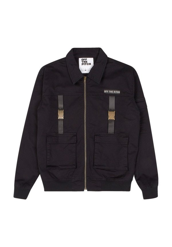 Off The Pitch The Cargo Cult Jacket Black