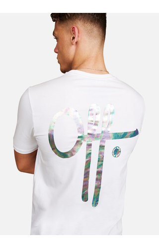 Off The Pitch Off The Pitch Illuminated Tee White