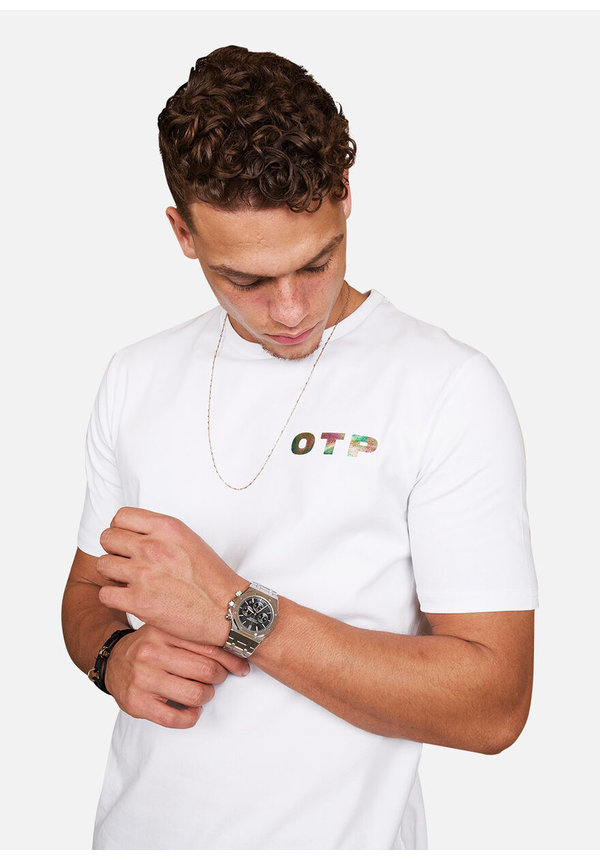 Off The Pitch Illuminated Tee White