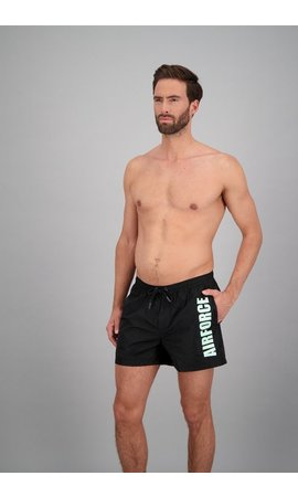 Airforce Airforce Swimshort True Black/Spray