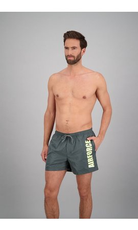 Airforce Airforce Swimshort Gun Metal/Elfin