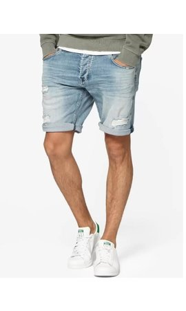 Circle of trust Circle of trust Connor Denim Short Blue Stone