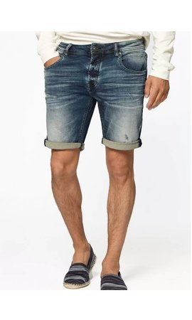 Circle of trust Circle of trust Connor Denim Short Framed Blue
