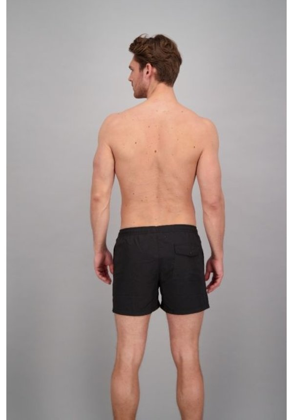 Airforce Swimshort True Black/White