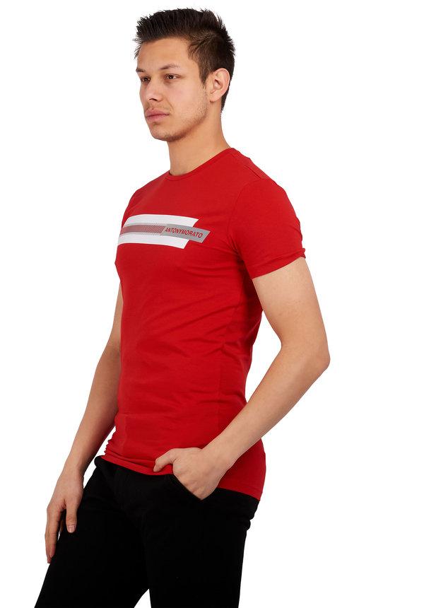 Antony Morato Sport Heritage MMKS01717-FA120001 Red