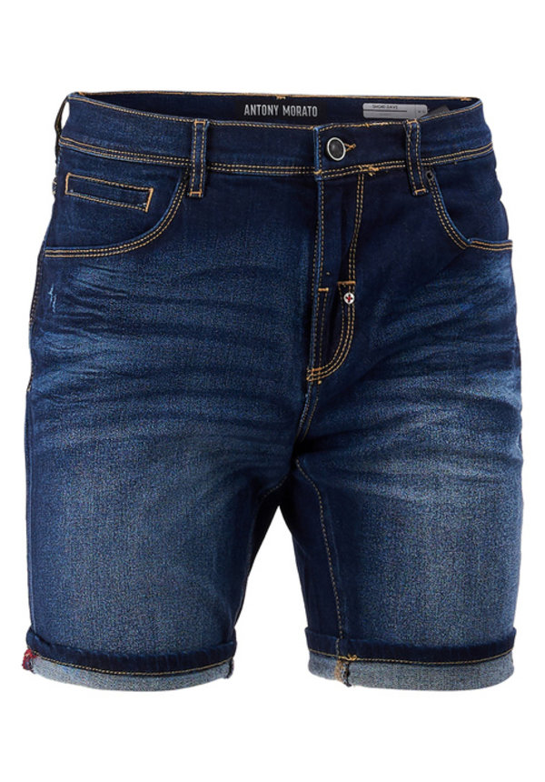 Antony Morato MMDS00072 - FA750266 Short Blue Denim