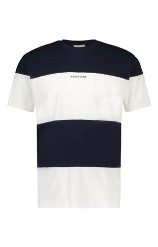 Purewhite Purewhite 20010132 SS20 Navy T-shirt