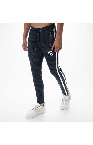 AB-Lifestyle AB Lifestyle Striped Track Pants Navy